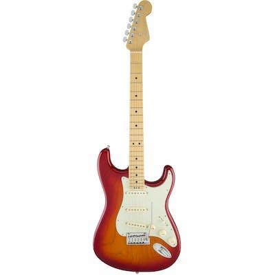 Fender American Elite Strat MN in Aged Cherry Burst
