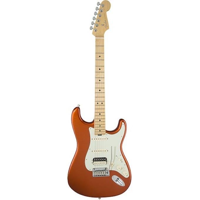 Fender American Elite Strat HSS Shawbucker MN in Autumn ... on