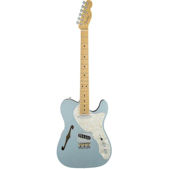 Fender american elite tele thinline mn in mystic ice blue fender american elite tele thinline mn in mystic ice blue publicscrutiny Image collections