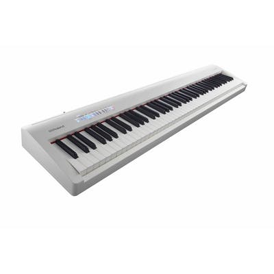 Roland FP30 Digital Portable Piano in White