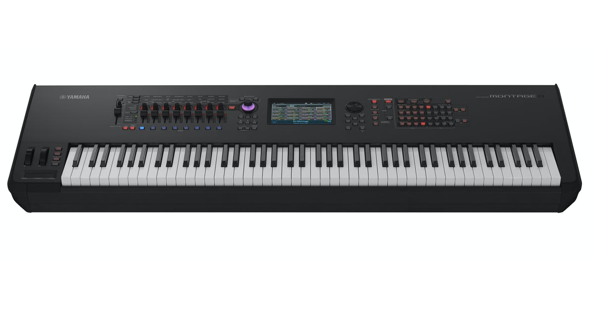 Yamaha Montage 8 - 88 Note Synthesizer - Andertons Music Co