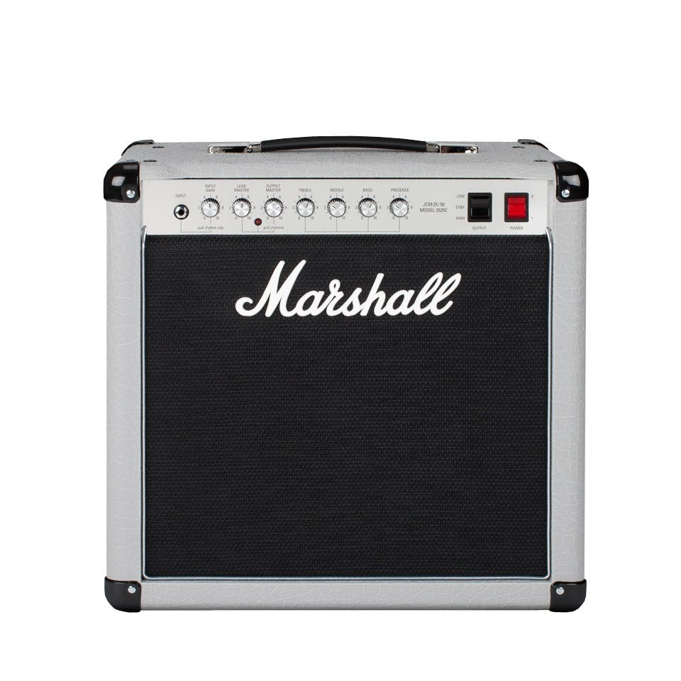 Whats The Best Marshall Amp Your Ultimate Guide From Andertons Making A Simple Diy Mini Guitar Amplifier Strat And Other 2525c Silver Jubilee 20 Watt 1x12 Combo