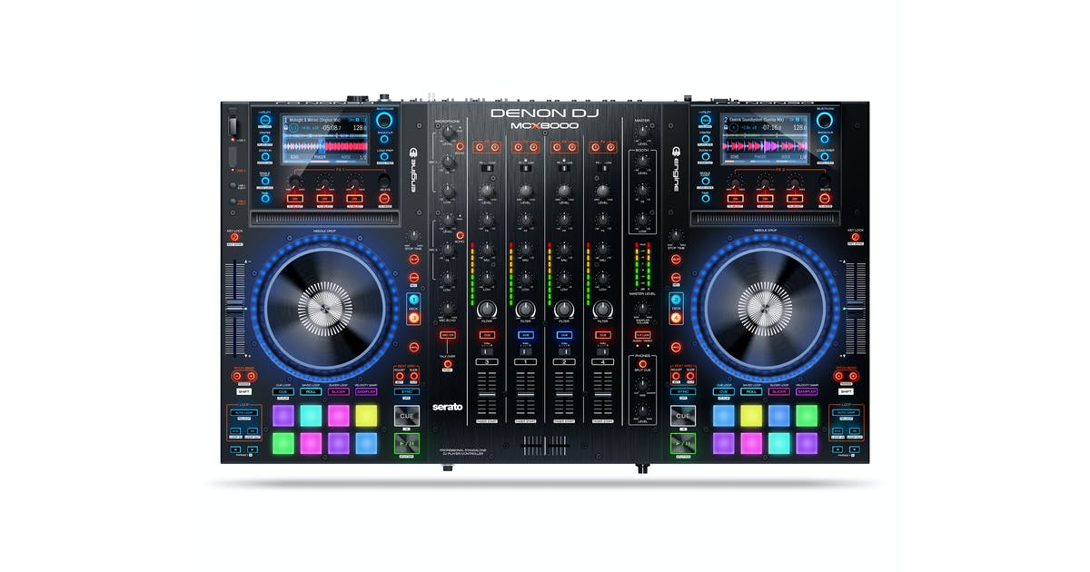 Denon Mc 8000 : denon mcx8000 dj controller w engine software andertons music co ~ Russianpoet.info Haus und Dekorationen