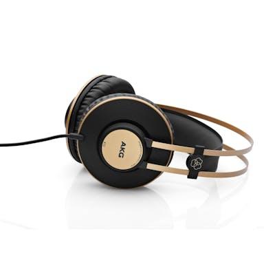 AKG K92 Closed Back Studio Headphones in Black/Gold