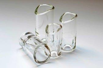 Real BottleNeck Traditional Guitar SLide Custom Glass
