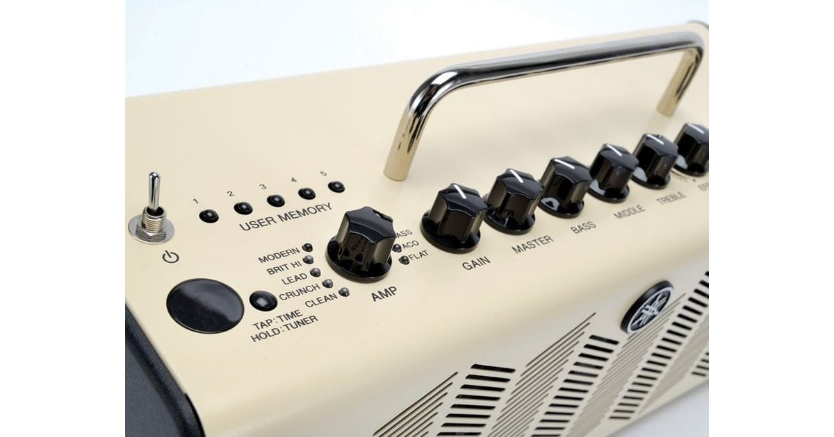 Yamaha thr10 compact guitar amp andertons music co for Yamaha guitar amplifier thr10