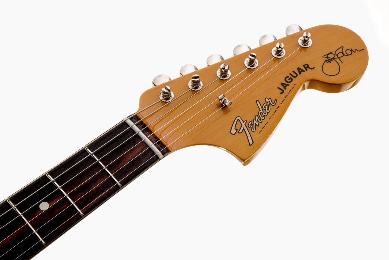 Fender Johnny Marr Jaguar Rosewood Fingerboard Olympic White   Andertons  Music Co.