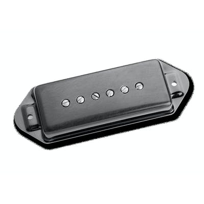 Seymour Duncan Antiquity P90 Black Dog Ear Bridge Pickup