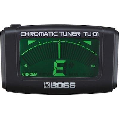 BOSS TU01 Clip-On Chromatic Tuner