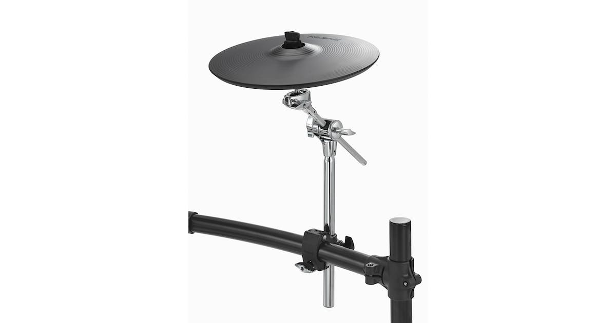 roland cy12c dual trigger 12 crash cymbal andertons music co. Black Bedroom Furniture Sets. Home Design Ideas