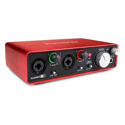 Focusrite Scarlett 2i2 Audio Interface - 2nd Generation