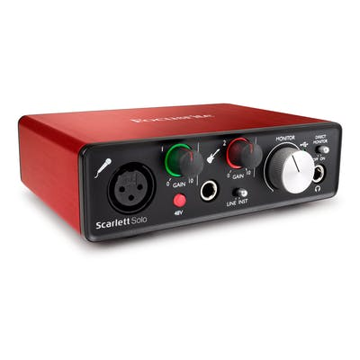Focusrite Scarlett Solo Audio Interface - 2nd Generation