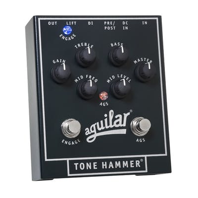 Aguilar Tone Hammer Preamp Direct Box and Pedal