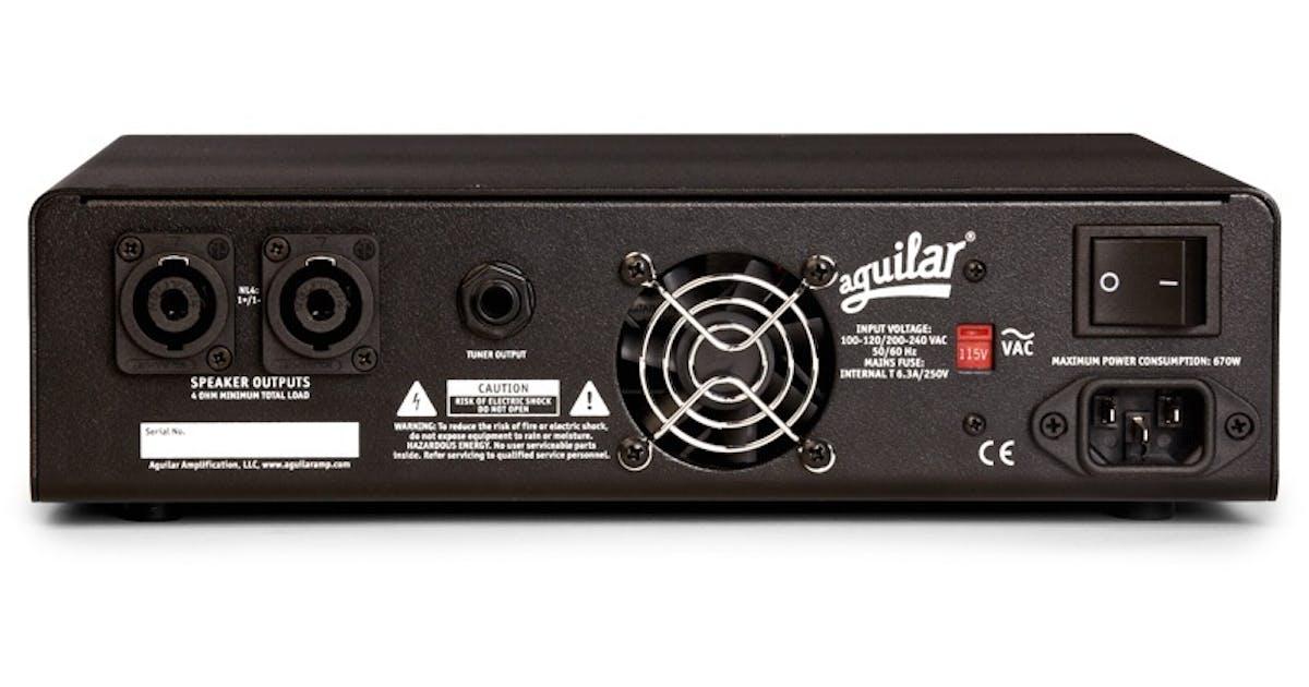 aguilar amplifier tone hammer 500 super light bass head andertons music co. Black Bedroom Furniture Sets. Home Design Ideas