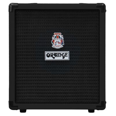 Orange Crush Bass 25 Combo in Black