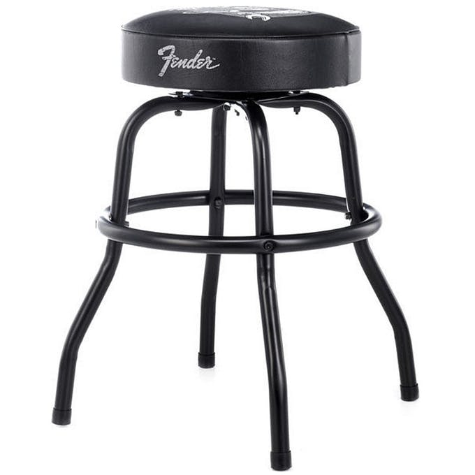 Cool Fender 24 David Lozeau Barstool Andertons Music Co Camellatalisay Diy Chair Ideas Camellatalisaycom