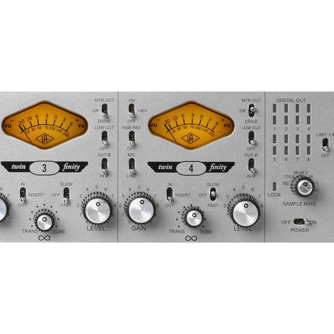 Universal Audio 4-710d 4-Channel Twin-Finity Mic Preamp & DI