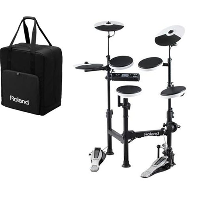 Roland Td 4kp V Drum Portable Electronic Drum Kit With Carry Case