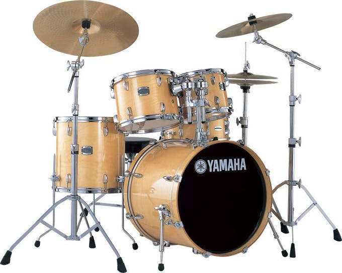 Yamaha Stage Custom Birch Drum Kit In Natural Wood Andertons Music Co