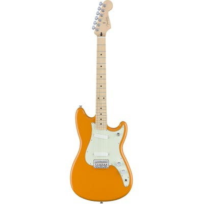 Fender Mexican Offset Duo Sonic MN in Capri Orange