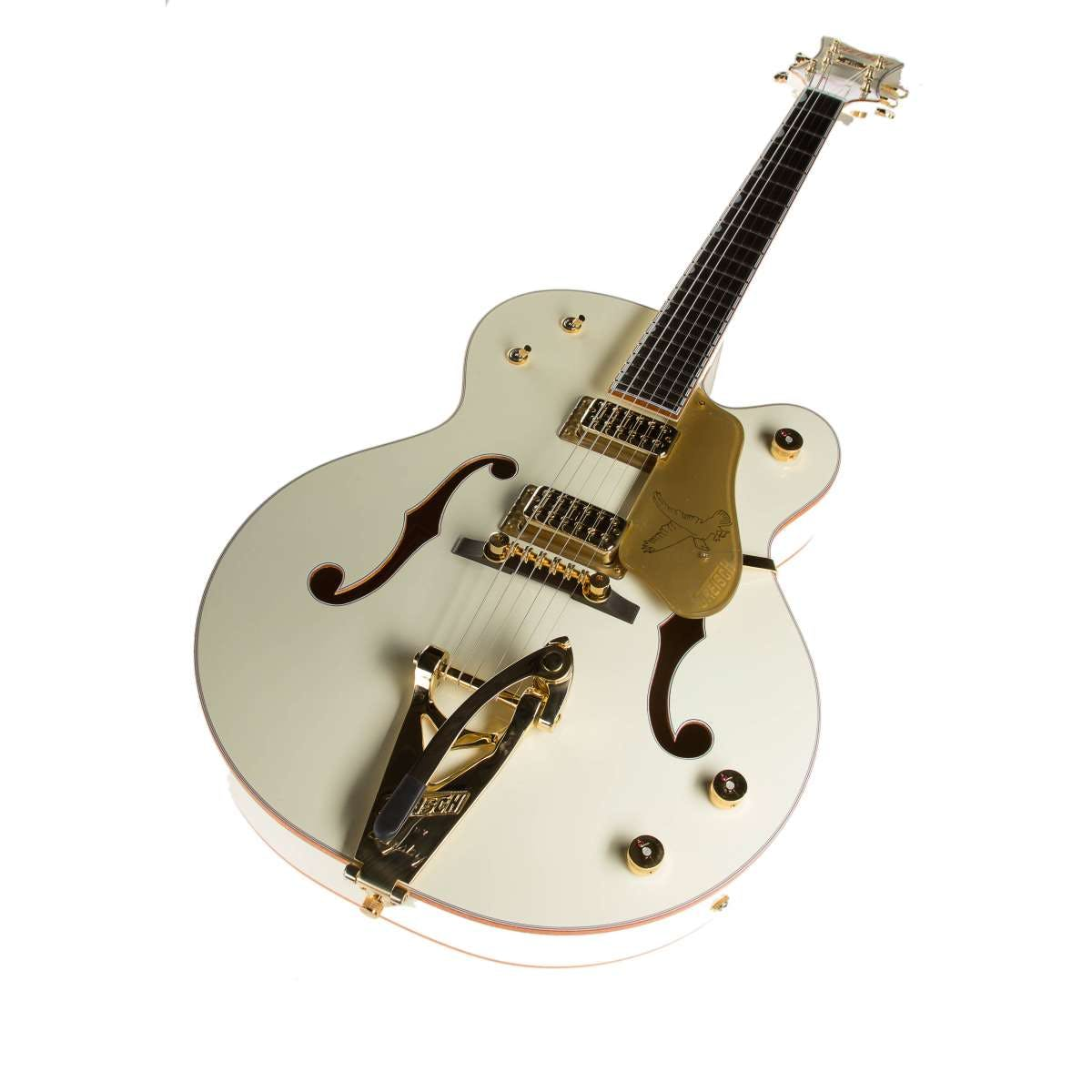 Gretsch G6136t 59ge 1959 Falcon With Bigsby In Vintage White Tv Jones Wiring Kit Andertons Music Co