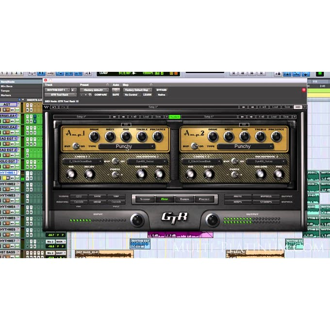 Waves GTR3 Guitar Amps and Effects Plugin Bundle ESD