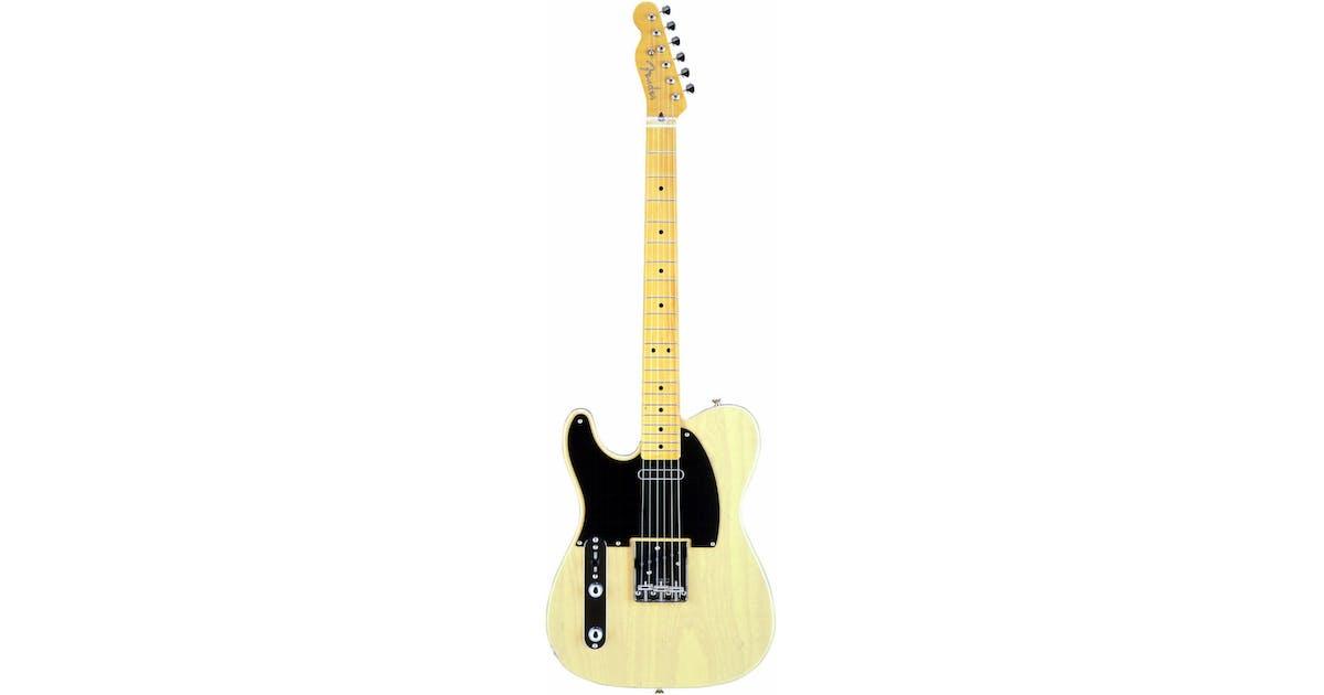 Fender Classic 50s Tele Custom in Off White Blonde Left