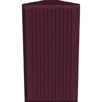 Universal Acoustics Jupiter Bass Trap-600mm Burgundy - Pack of 4