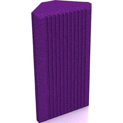 Universal Acoustics Jupiter Bass Trap 600mm Purple - Pack of 4