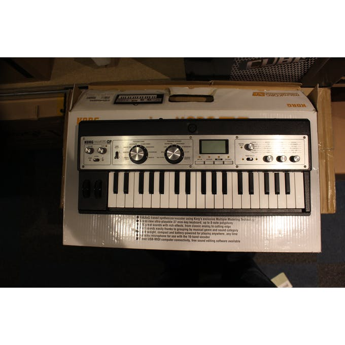 Second Hand MicroKorg XL Synthesizer/Vocoder T: TG