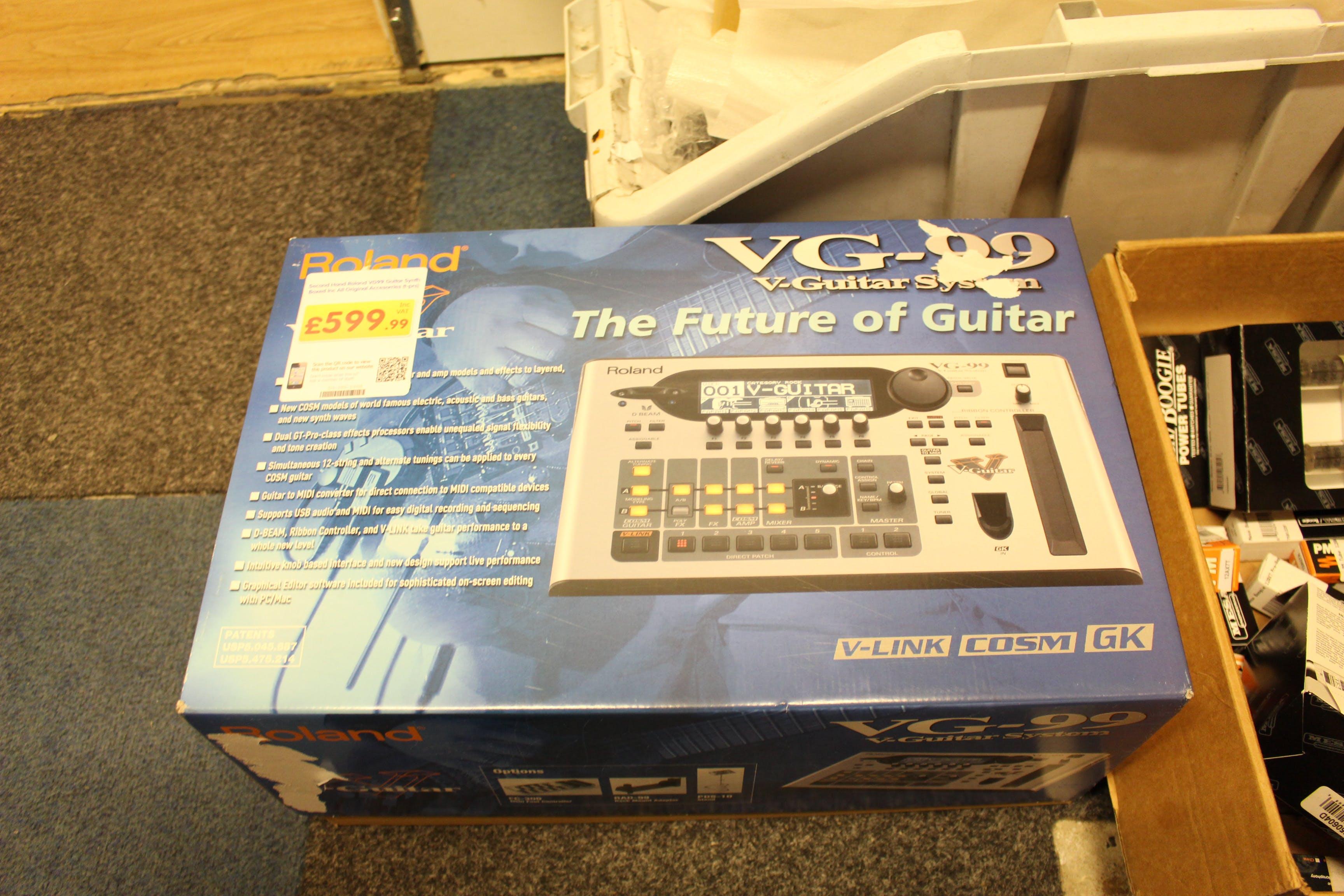 Second Hand Roland VG99 Guitar Synth Boxed Inc All Original - Andertons  Music Co. d40fe9379da