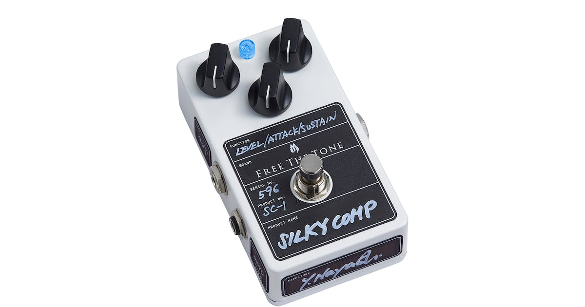 Free The Tone Custom Series SC-1 Silky Comp Compressor Pedal - Andertons  Music Co