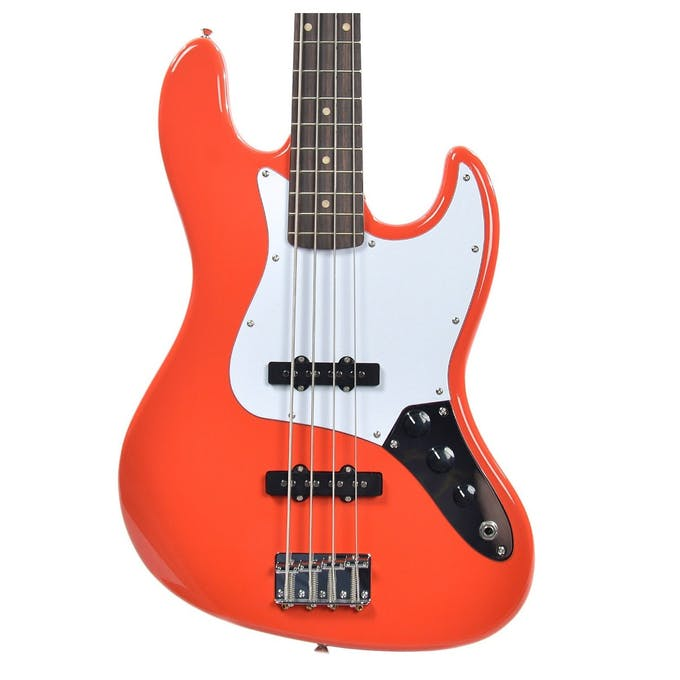 Squier Affinity Jazz Bass Racing Red