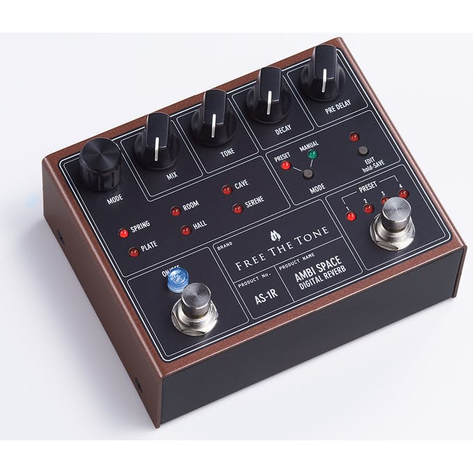 Free The Tone AS-1R Ambi Space Digital Reverb Pedal - Andertons Music Co