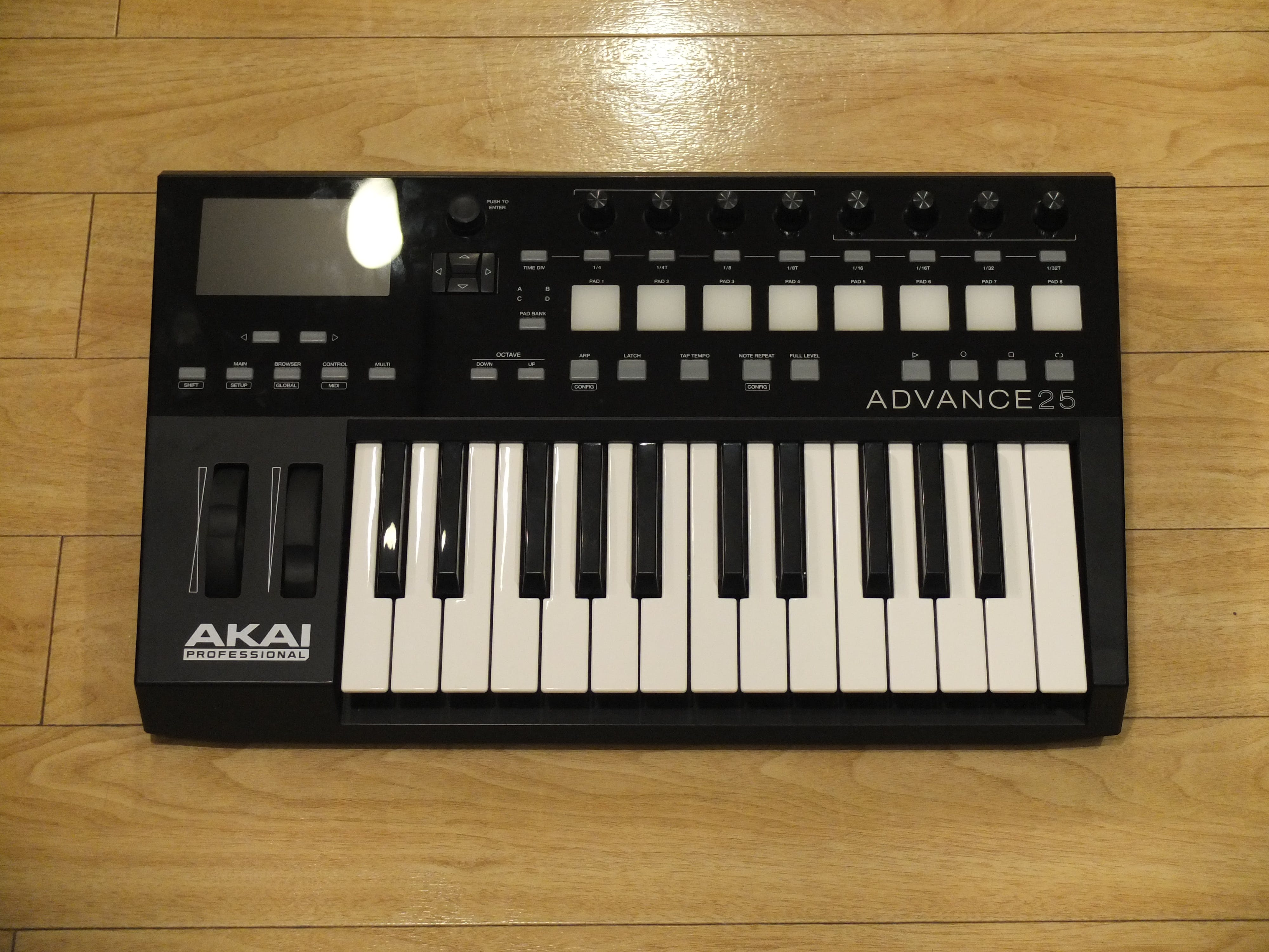 Second Hand Akai Advance 25 MIDI Controller (T-AS) - Andertons