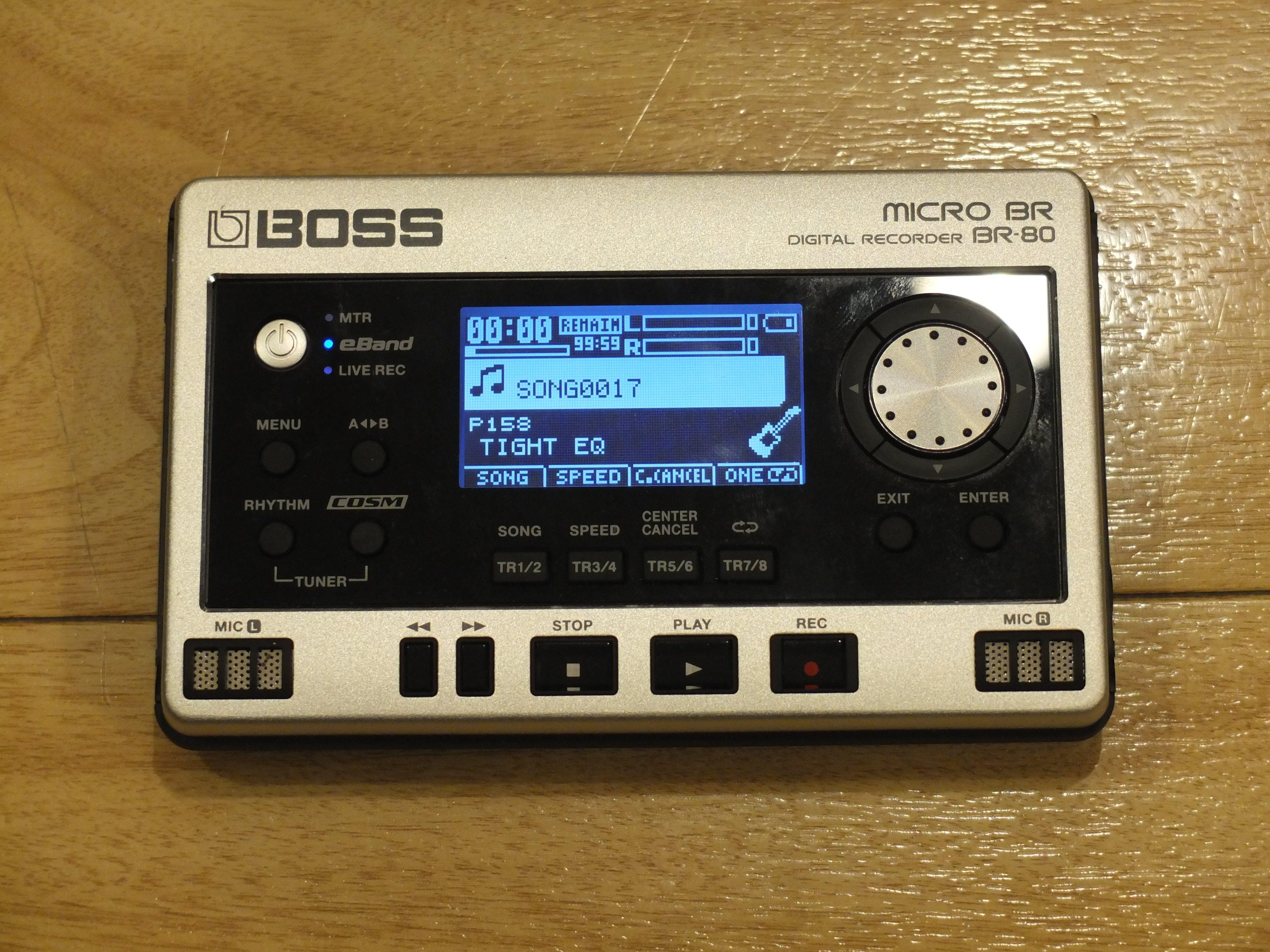 BOSS MICRO BR-80 DIGITAL RECORDER 32GB SD SDHC MEMORY CARD UPGRADE