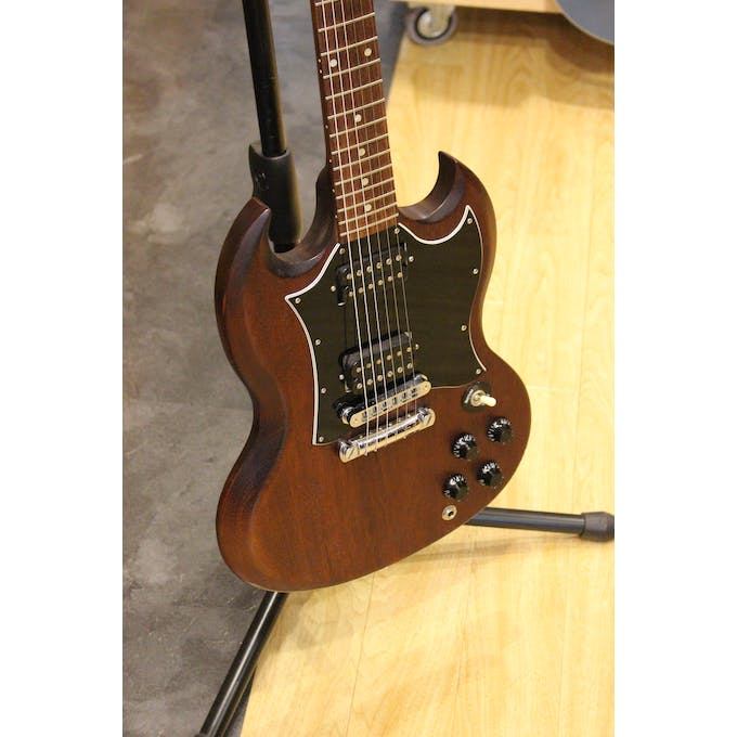 Second Hand 2008 Gibson SG Special In Worn Brown Including