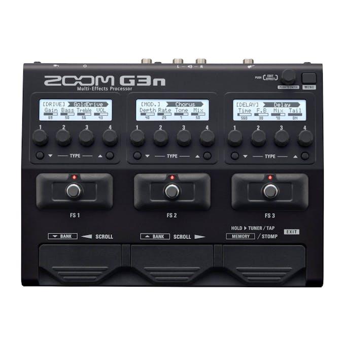 9fb134f7cf0a89 Zoom G3n Multi Effect Processor - Andertons Music Co.