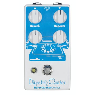 EarthQuaker Devices Dispatch Master v2 Reverb & Delay Pedal