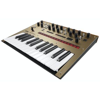 Korg Monologue Monophonic Analog Synthesizer in Gold