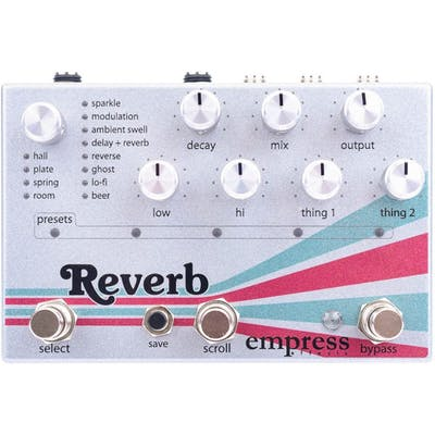 Empress Reverb Pedal
