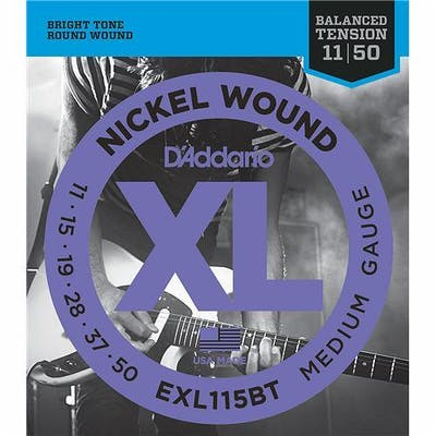 D'Addario XL120BT 11-50 Balanced Tension Strings