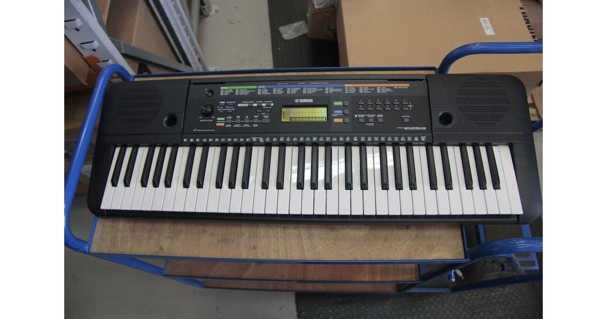 B Stock Yamaha Psre253 Portable Keyboard Inc Andertons