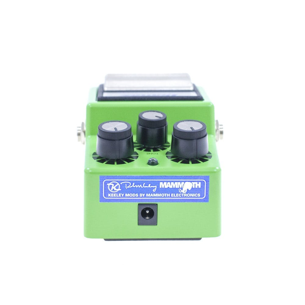 Ibanez TS9 Mod+ Keeley Mod by Mammoth Electronics with