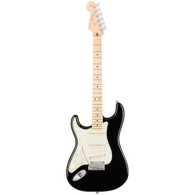 Fender American Professional Strat Left Handed MN Black