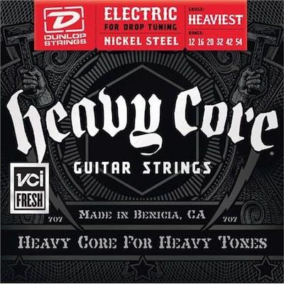 Dunlop Heavy Core HEAVIEST strings 12-54