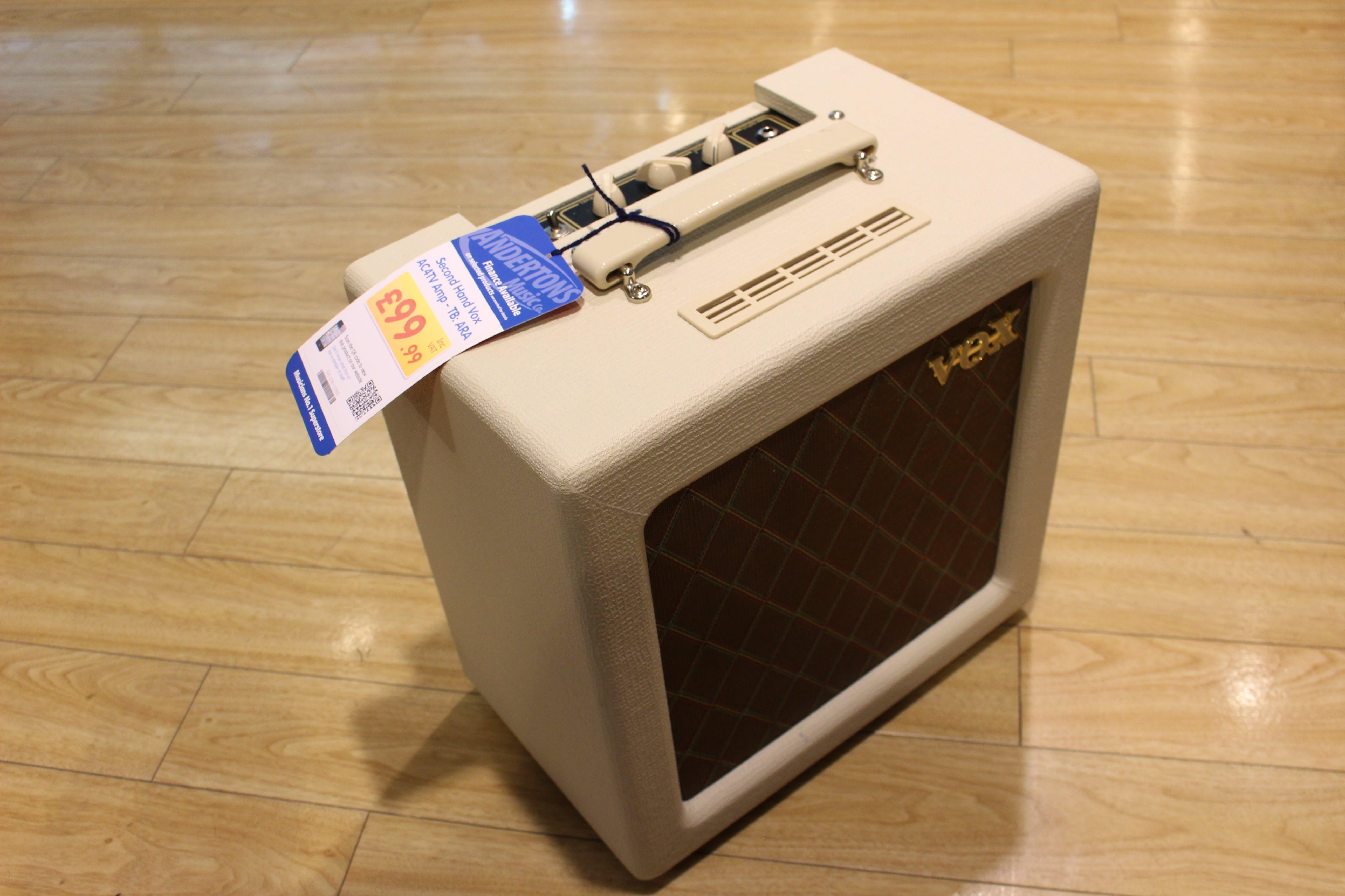 Second Hand Vox AC4TV Amp - TB: ARA - Andertons Music Co