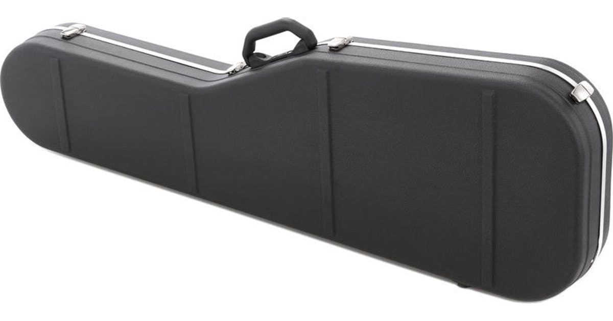 hiscox fender bass case available with pads to fit jazzmaster andertons music co. Black Bedroom Furniture Sets. Home Design Ideas