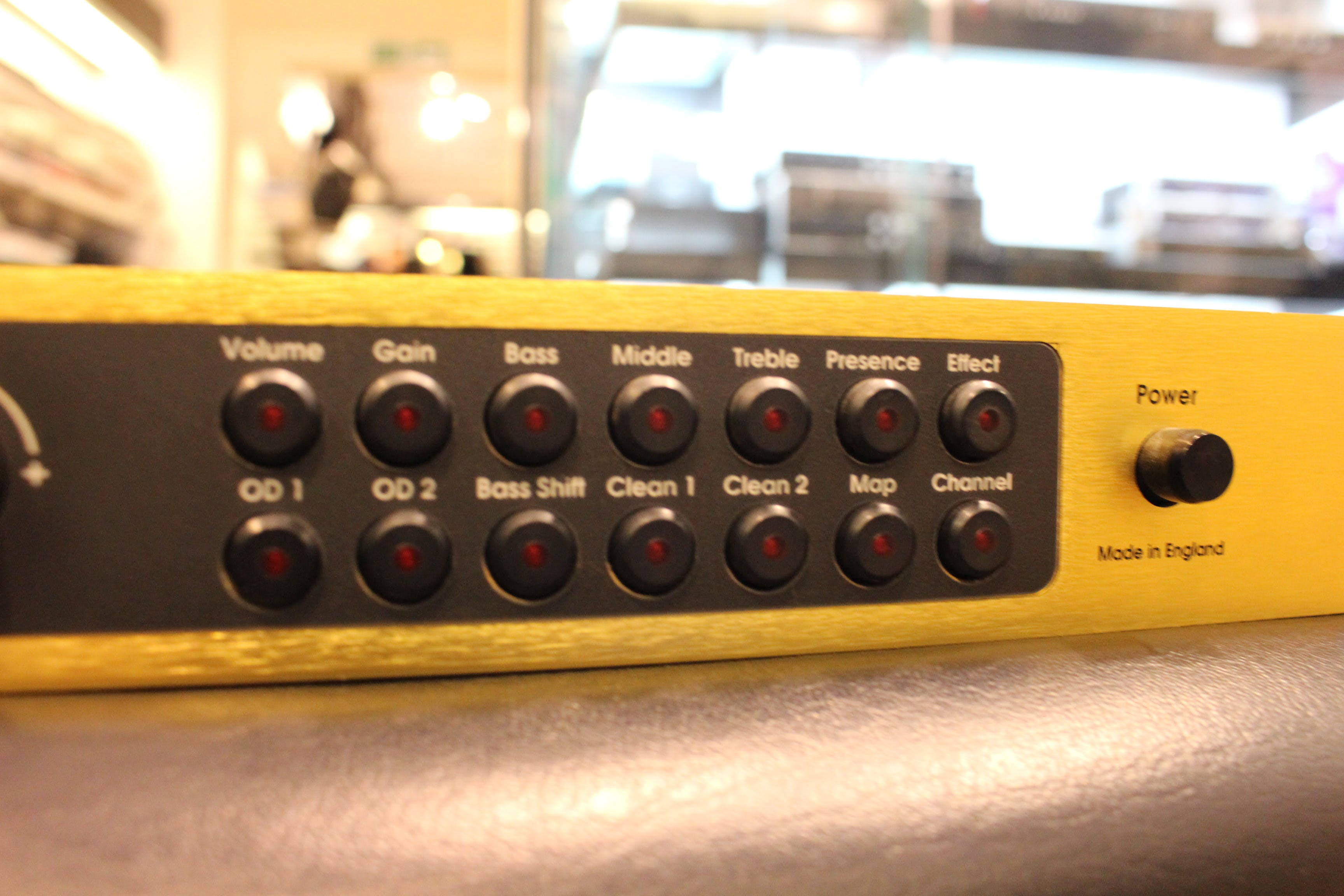 Second Hand Marshall JMP:1 Rack Pre Amp - Andertons Music Co
