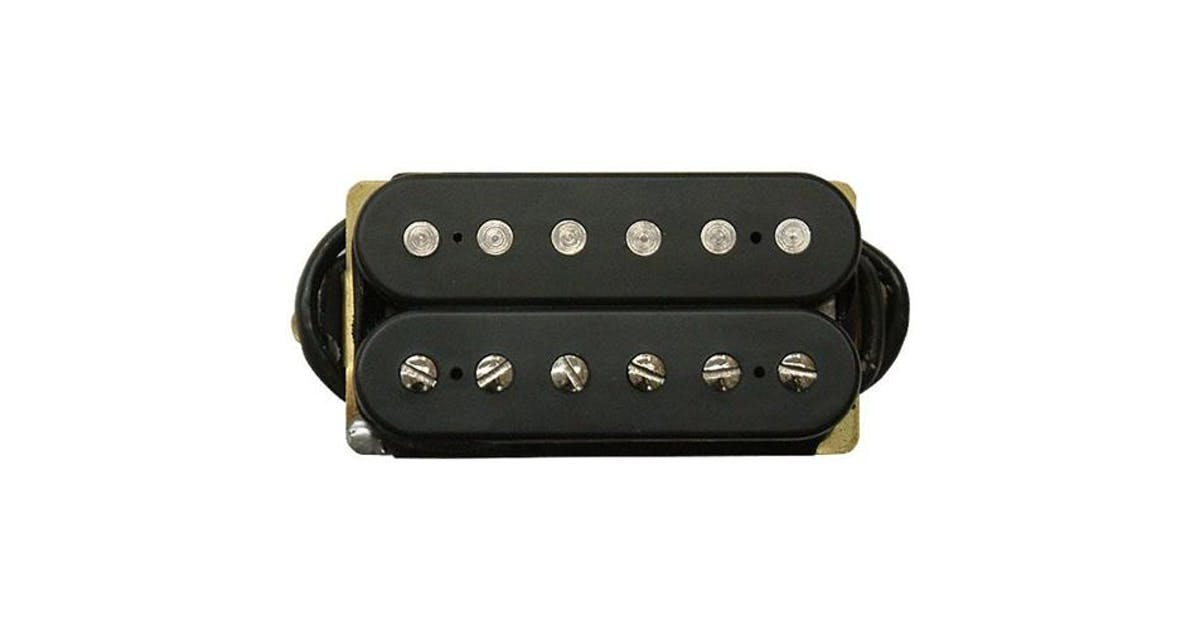 dimarzio dp103 paf 36th anniversary humbucker pickup in black andertons music co. Black Bedroom Furniture Sets. Home Design Ideas